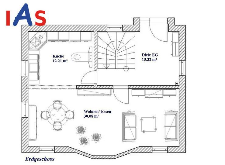 Bild 2: Neubau: Modernes Einfamilienhaus auf sonnigem Grundstück - in Ortsrandlage von Sulzbach-R...