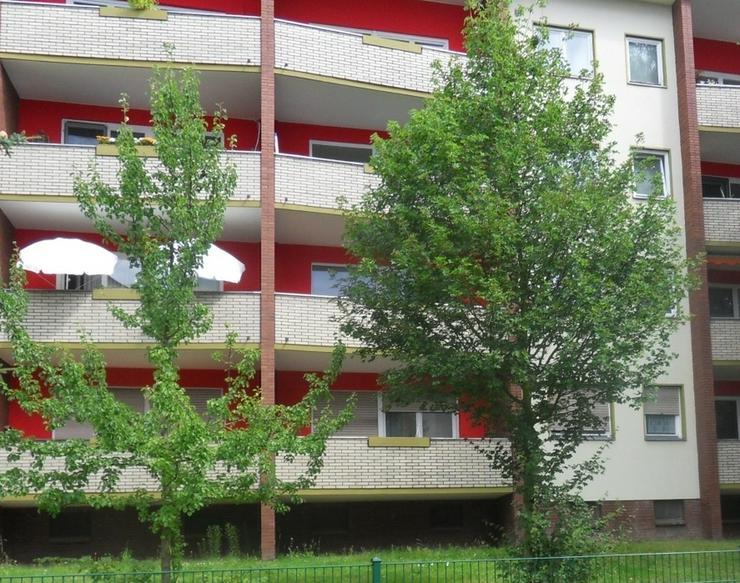 * bezugsfreie Balkon-Wohnung in gepflegter Anlage * guter Schnitt * ruhig *