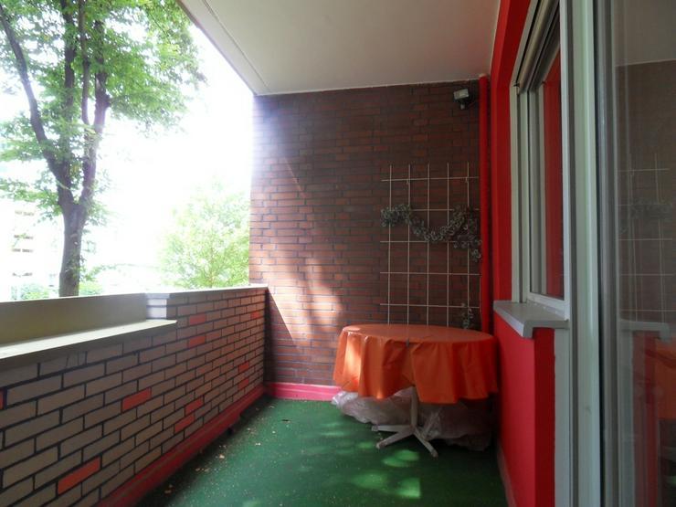 Bild 6: * bezugsfreie Balkon-Wohnung in gepflegter Anlage * guter Schnitt * ruhig *