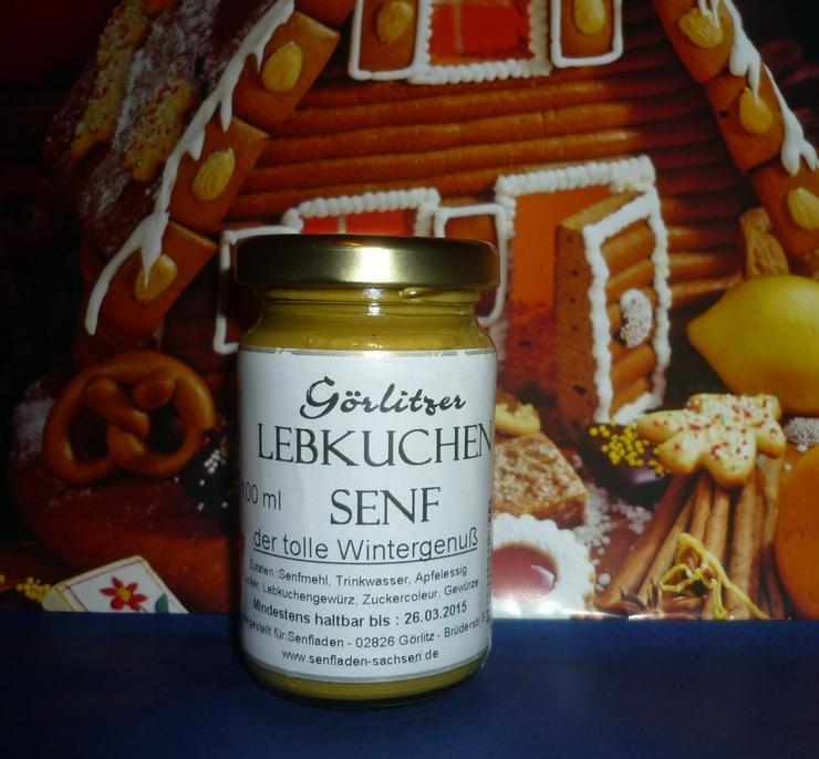 Görlitzer Lebkuchen Senf 100 ml