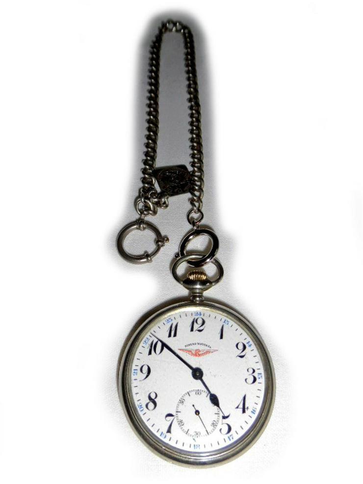 Große Eisenbahner-Taschenuhr von Sireko Watch