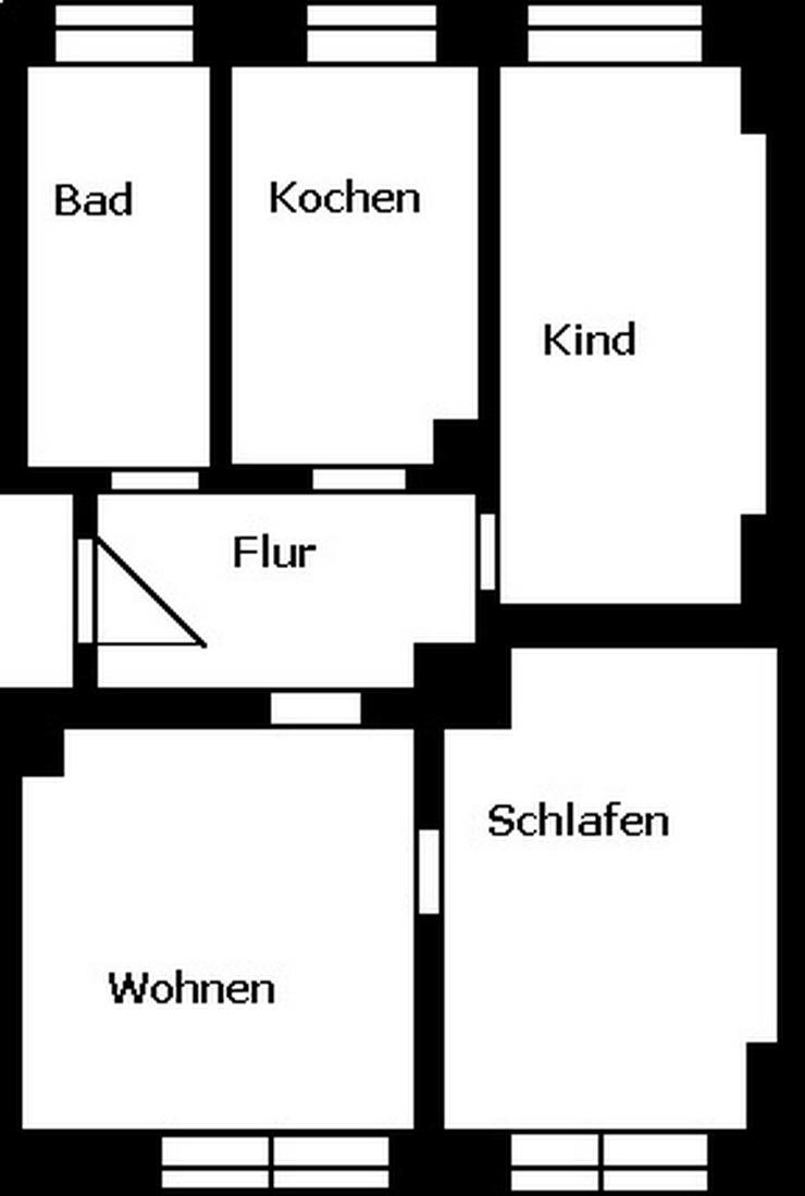Schöne 3-Raum-Wohnung! - Wohnung mieten - Bild 1