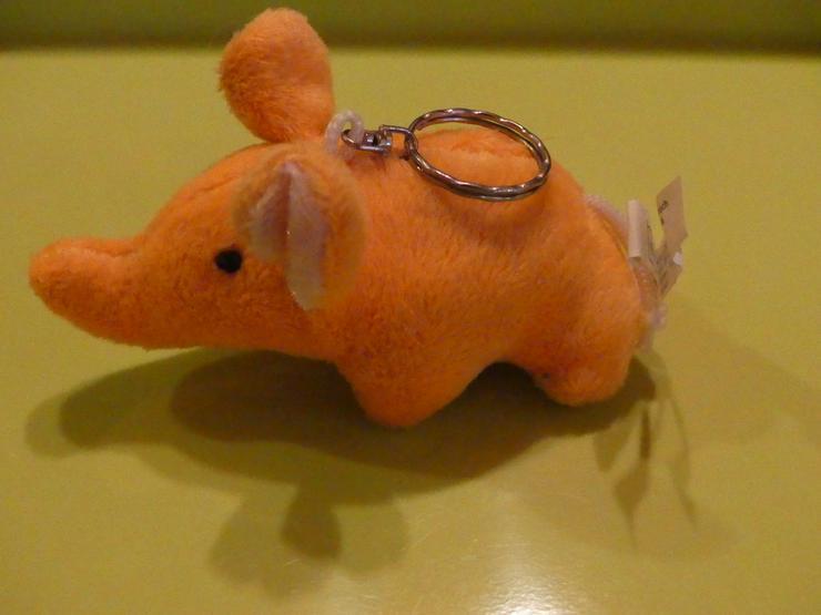 Bild 3: orangener Elefant
