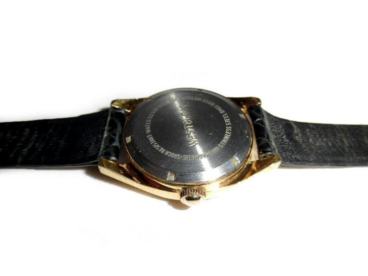 Bild 5: Seltene Armbanduhr von Westclox