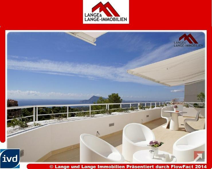Altea - Luxus Villa Erstbezug mit grossartigem Panorama Meerblick - Altea Azur Residenz - ...