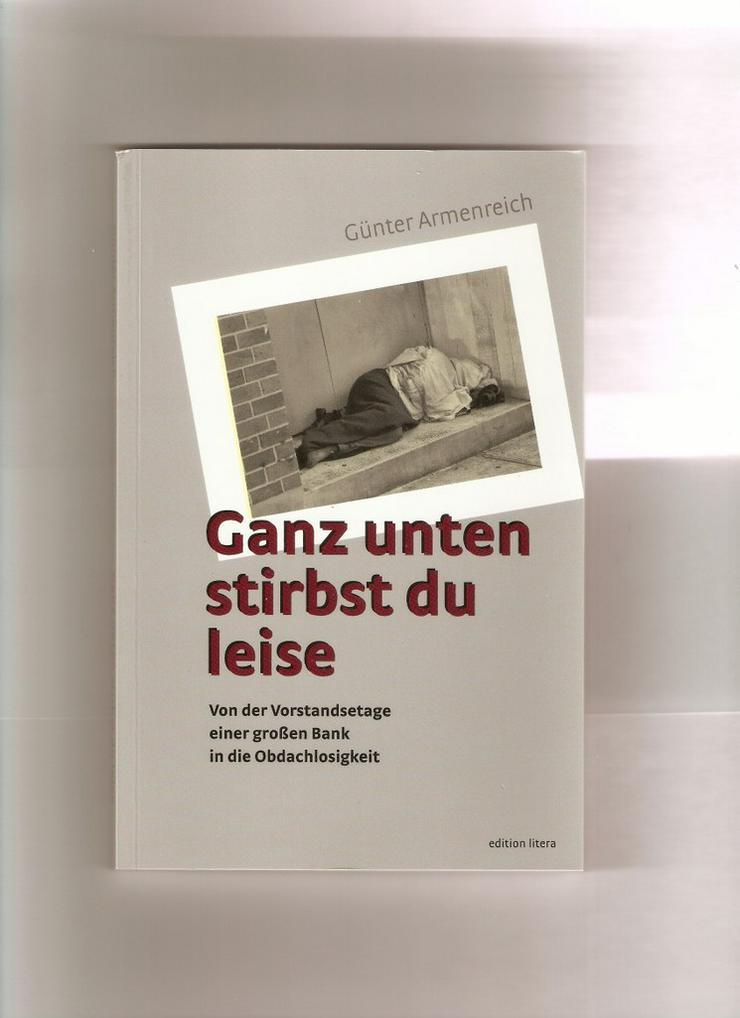 Buch: Ganz unten stirbst du leise / 90.000-fach - Romane, Biografien, Sagen usw. - Bild 1