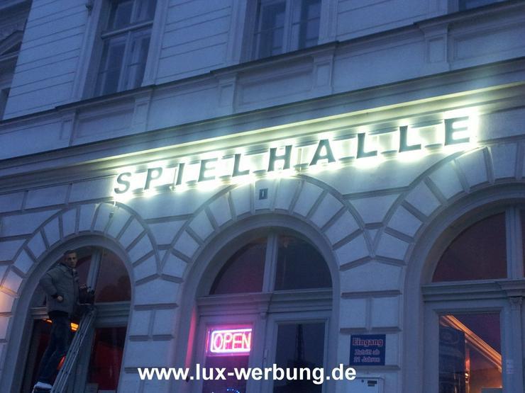Bild 5: 3D LED Leuchtwerbung Außenwerbung Lichtreklame