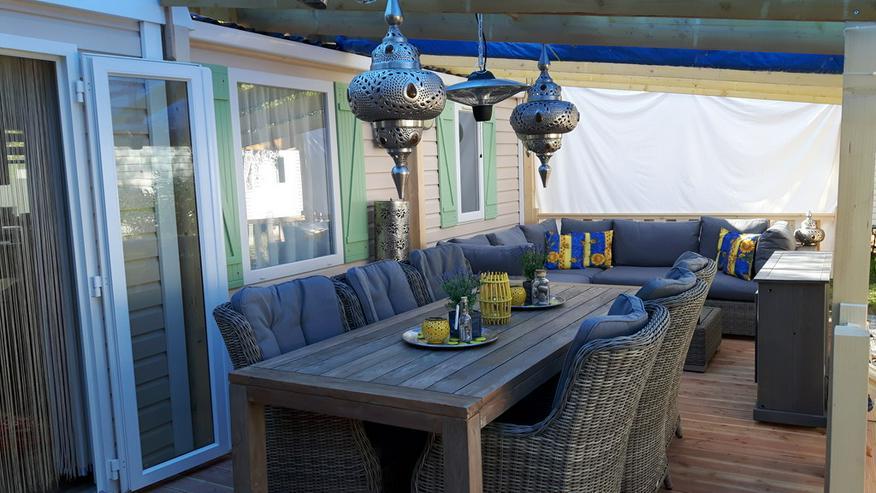 bilder zu sehr sch ne mobilheim camping st aygulf plage in. Black Bedroom Furniture Sets. Home Design Ideas