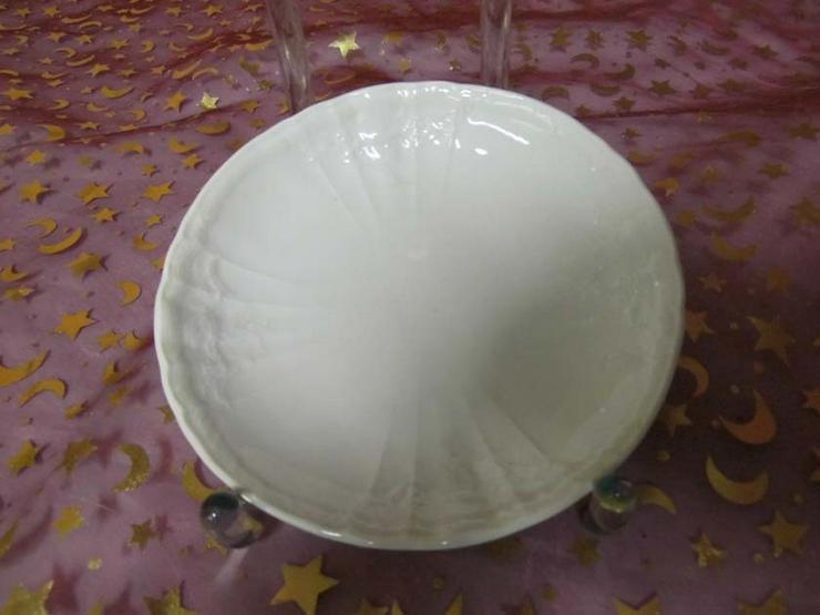 KPM Untertasse Rocaille weiß / Unterteller für - Kaffeegeschirr & Teegeschirr - Bild 1