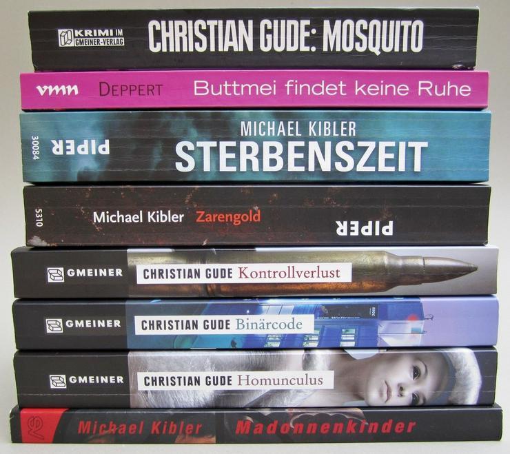 Darmstadt Krimi 8 Stk Kibler Gude Deppert