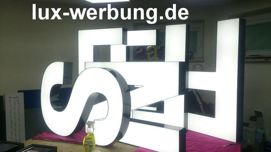 Bild 2: Lichtreklame Lichtwerbung 3D LED Außenwerbung