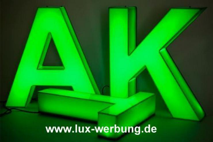 Bild 6: Lichtreklame Lichtwerbung 3D LED Außenwerbung