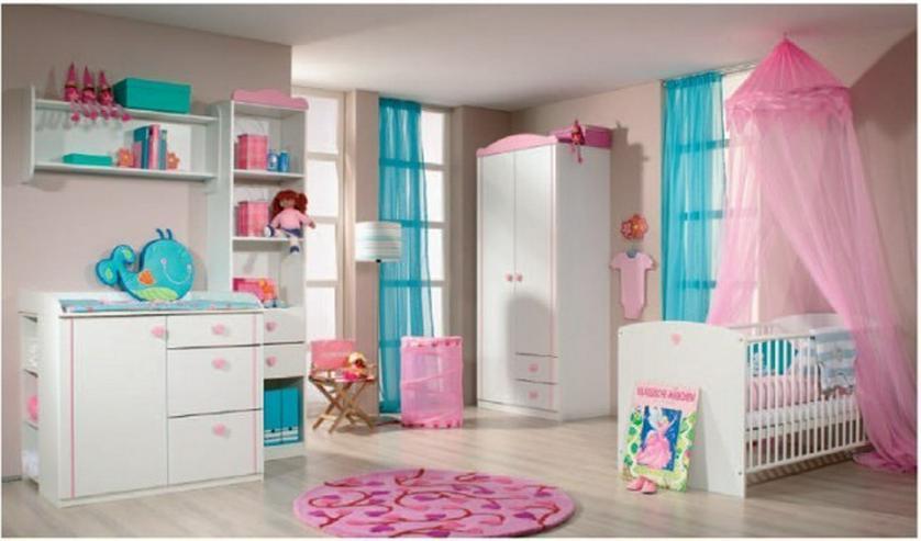 Babyzimmer JOY alpenweiss-pink NEU komplett