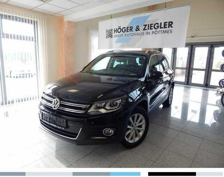 VW Tiguan 2.0 TDI SCR 4Motion BMT DSG Sport & Style Navi Xenon Leder Panorama AHK SHZ PDC