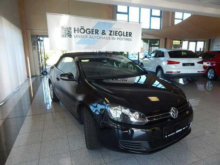 Bild 2: VW Golf VI Cabrio 1.2 TSI BMT Navi SHZ PDC Bluet.