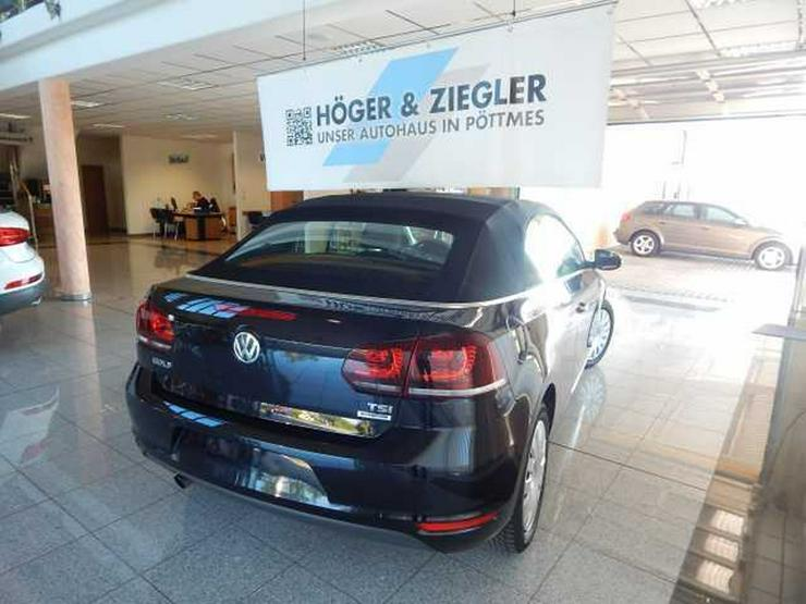 Bild 3: VW Golf VI Cabrio 1.2 TSI BMT Navi SHZ PDC Bluet.