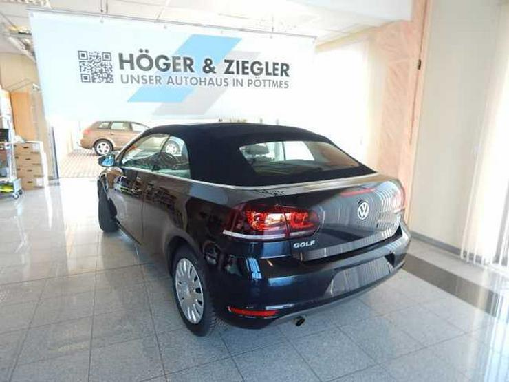 Bild 4: VW Golf VI Cabrio 1.2 TSI BMT Navi SHZ PDC Bluet.