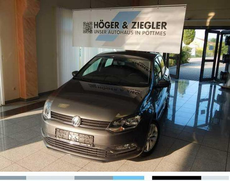 VW Polo 1.2 TSI BMT Comfortline Klima SHZ Radio Colour Bluet. GRA Alu - Polo - Bild 1