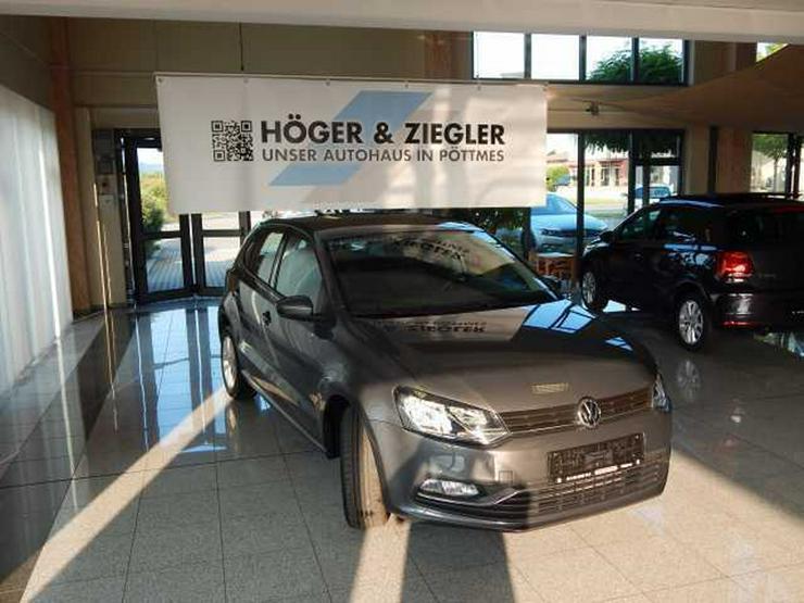 Bild 2: VW Polo 1.2 TSI BMT Comfortline Klima SHZ Radio Colour Bluet. GRA Alu