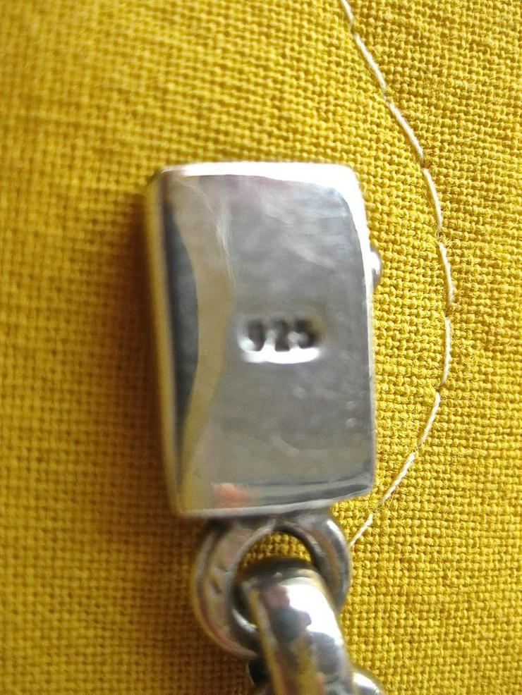 Bild 3: Halskette und Armband, 925 Silber massiv