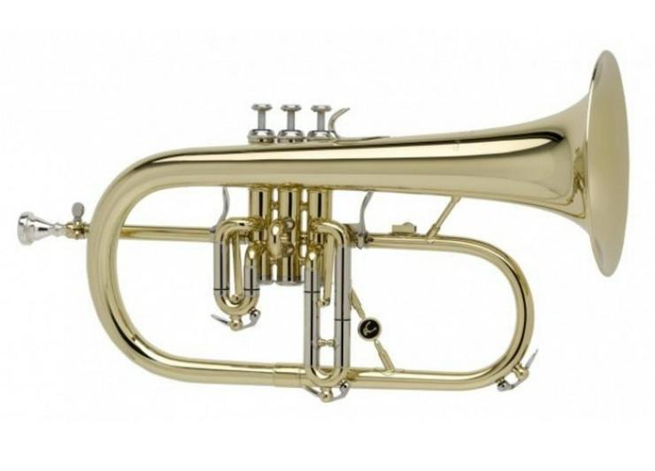 A. Courtois Paris 155R - Flügelhorn, 2 Trigger - Blasinstrumente - Bild 1