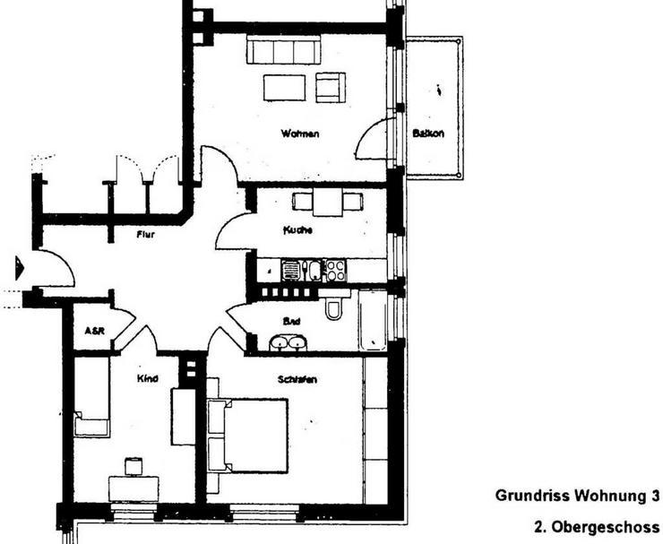 Bild 6: Chemnitz - Lutherviertel - 3 Zimmerwohnung mit Balkon und guter Raumaufteilung