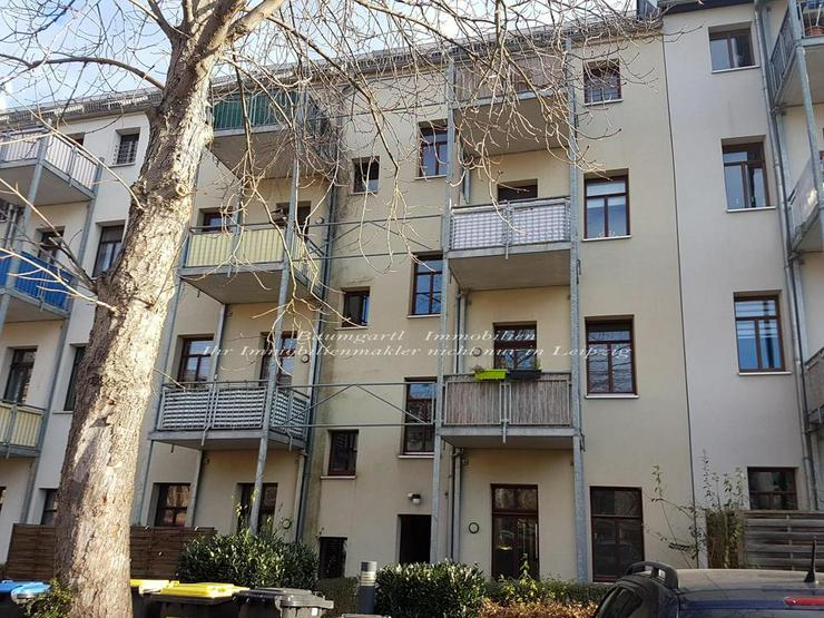 Chemnitz - in verkehrsberuhigter Nebenstraße eine schicke 2 Zimmerwohnung mit Terrasse - Bild 1