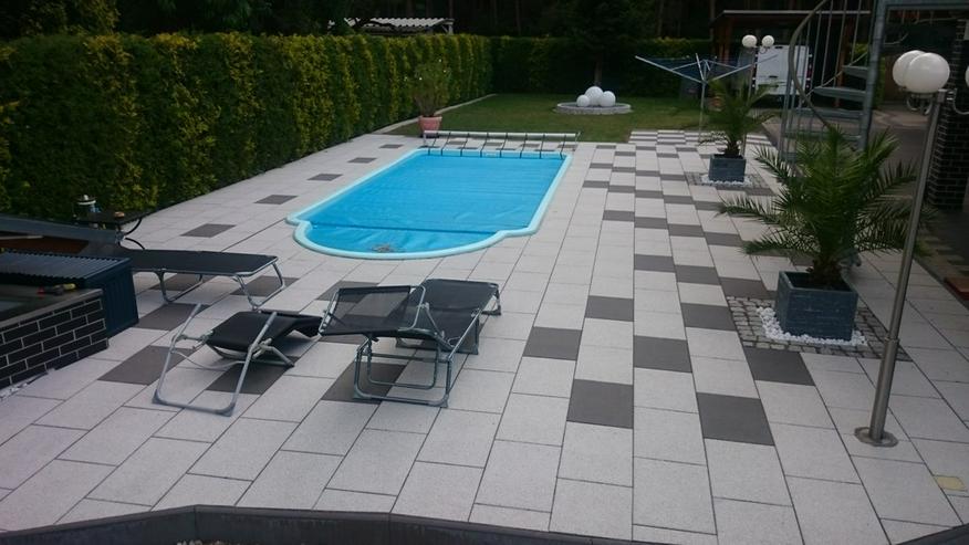 Bild 4: GFK Schwimmbecken 6 Pool Beleuchtung Filter