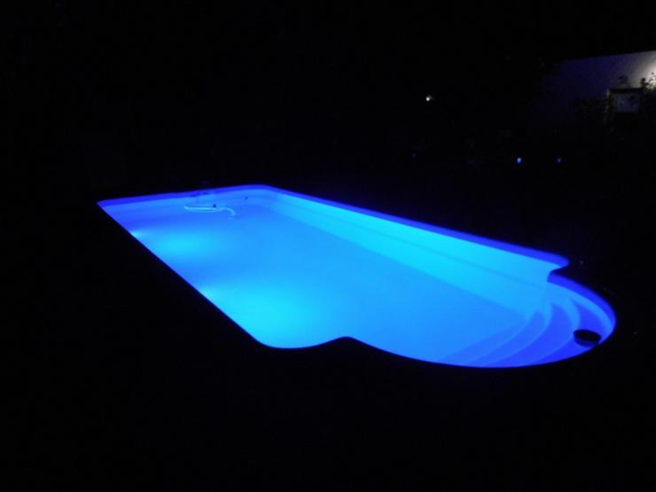 Bild 6: GFK Schwimmbecken 6 Pool Beleuchtung Filter