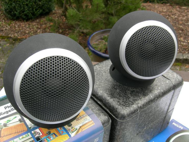 Lautsprecher (Kugeln) zu verkaufen