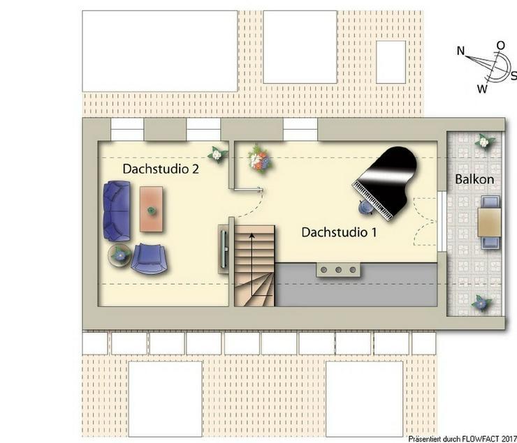 Bild 4: Lichtdurchflutete Maisonette Eigentumswohnung mitten in Kaufungen