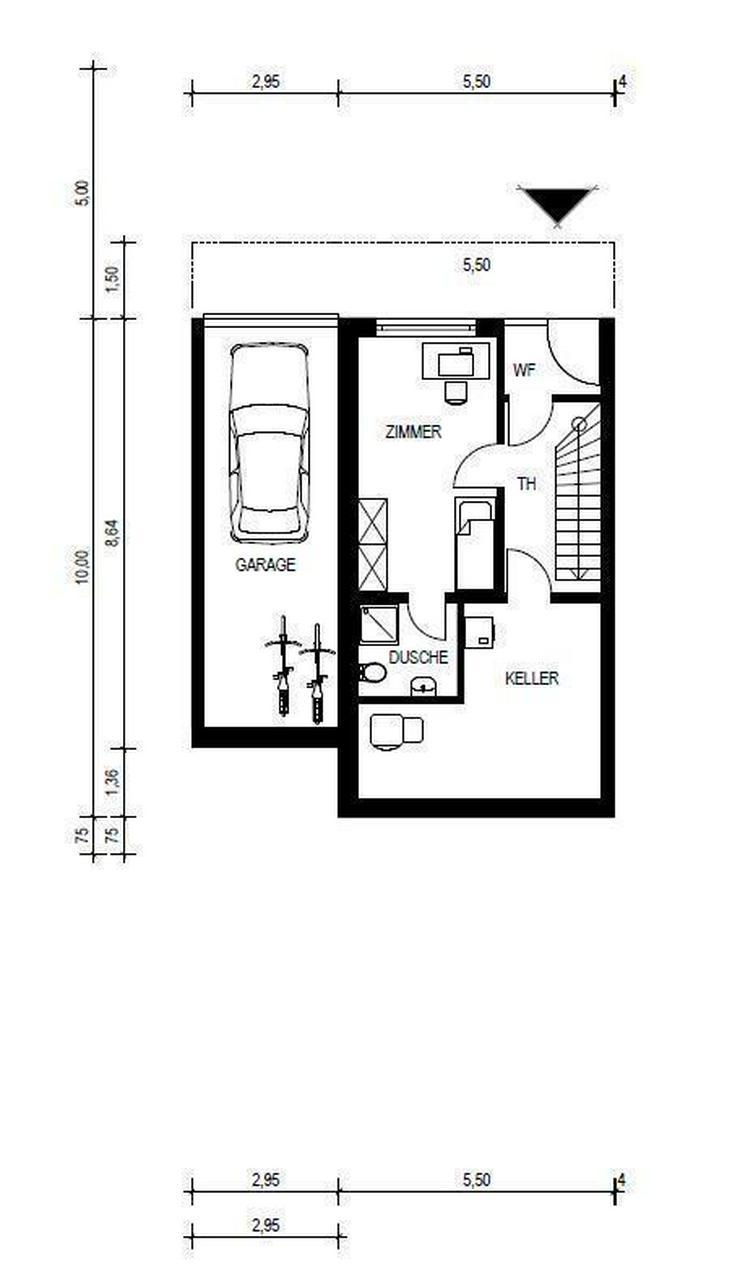 Bild 2: NEUBAU - Doppelhaushälfte UNTERKIRCHBERG