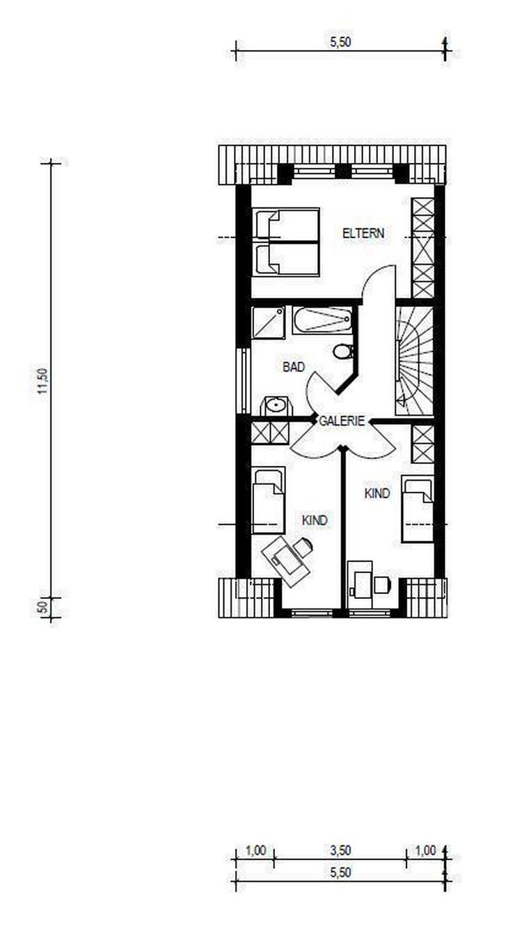 bilder zu neubau doppelhaush lfte unterkirchberg in illerkirchberg auf. Black Bedroom Furniture Sets. Home Design Ideas