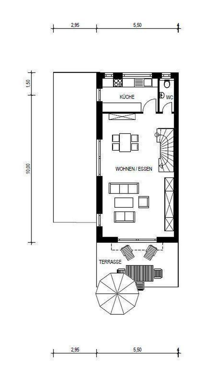 NEUBAU - Doppelhaushälfte UNTERKIRCHBERG