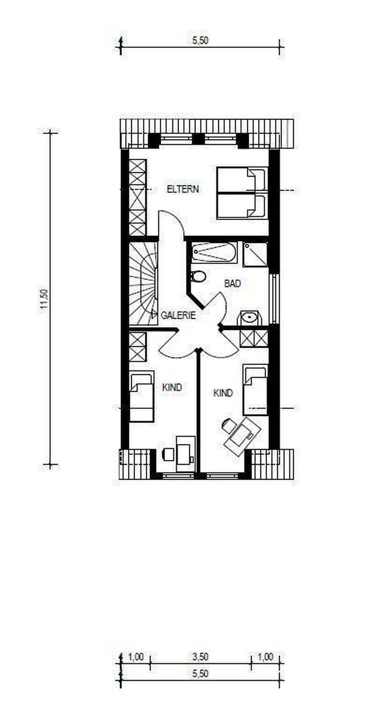Bild 4: NEUBAU - Doppelhaushälfte UNTERKIRCHBERG