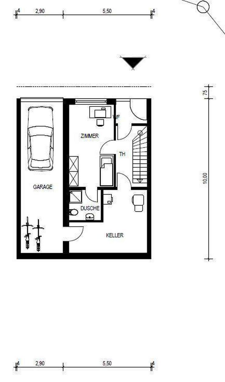 Bild 3: RESERVIERT! NEUBAU - Doppelhaushälfte UNTERKIRCHBERG