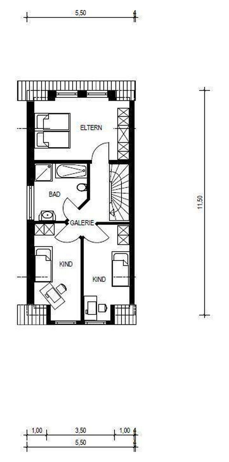 Bild 2: RESERVIERT! NEUBAU - Doppelhaushälfte UNTERKIRCHBERG