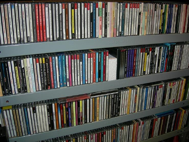 LPs, CDs, Schellackplatten mit Rock'n'Roll