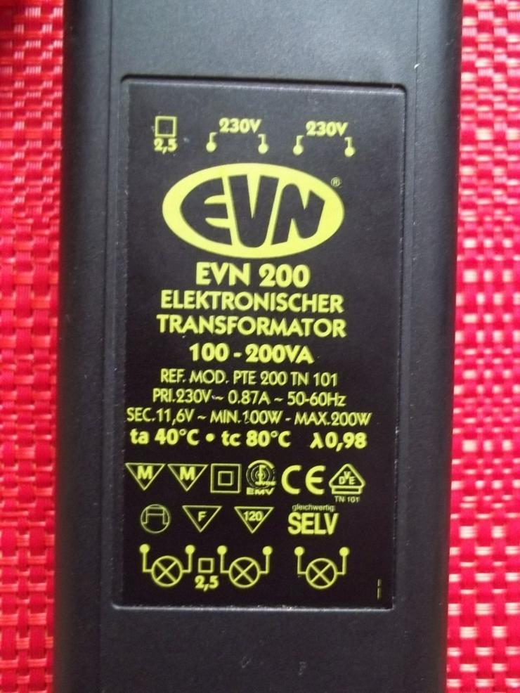 Bild 6: Elektronischer Transformator EVN 200