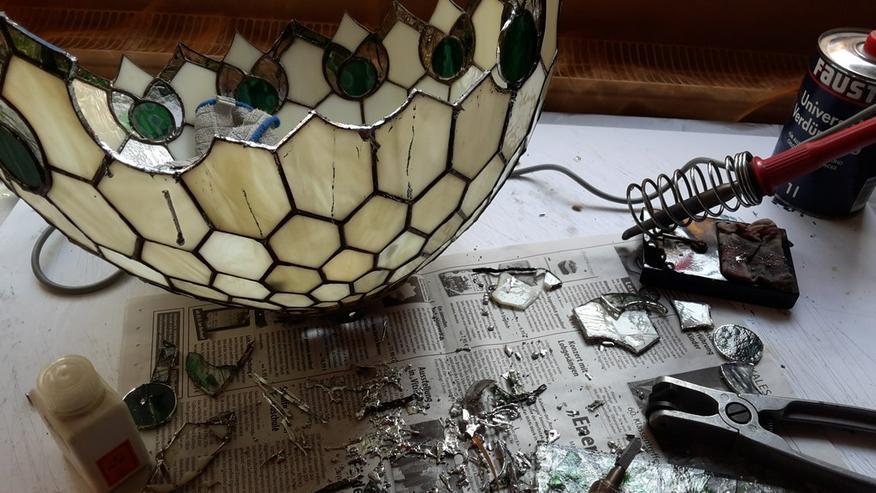Bild 4: Tiffanylampenreparatur Nrw  Würzburg
