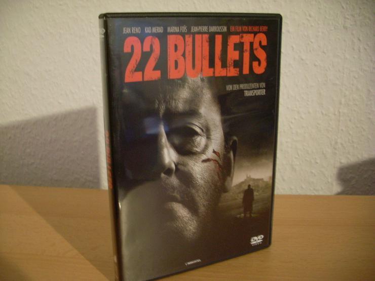 22 Bullets DVD mit Jean Reno UNCUT o FSK Flasch - Bild 1
