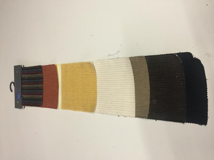 Möbelstoff Fein Cord diverse Farben
