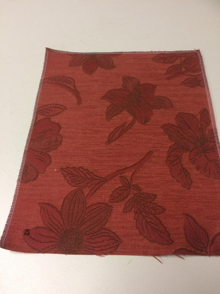Möbelstoff Chenille floral Muster - Gardinen - Bild 1