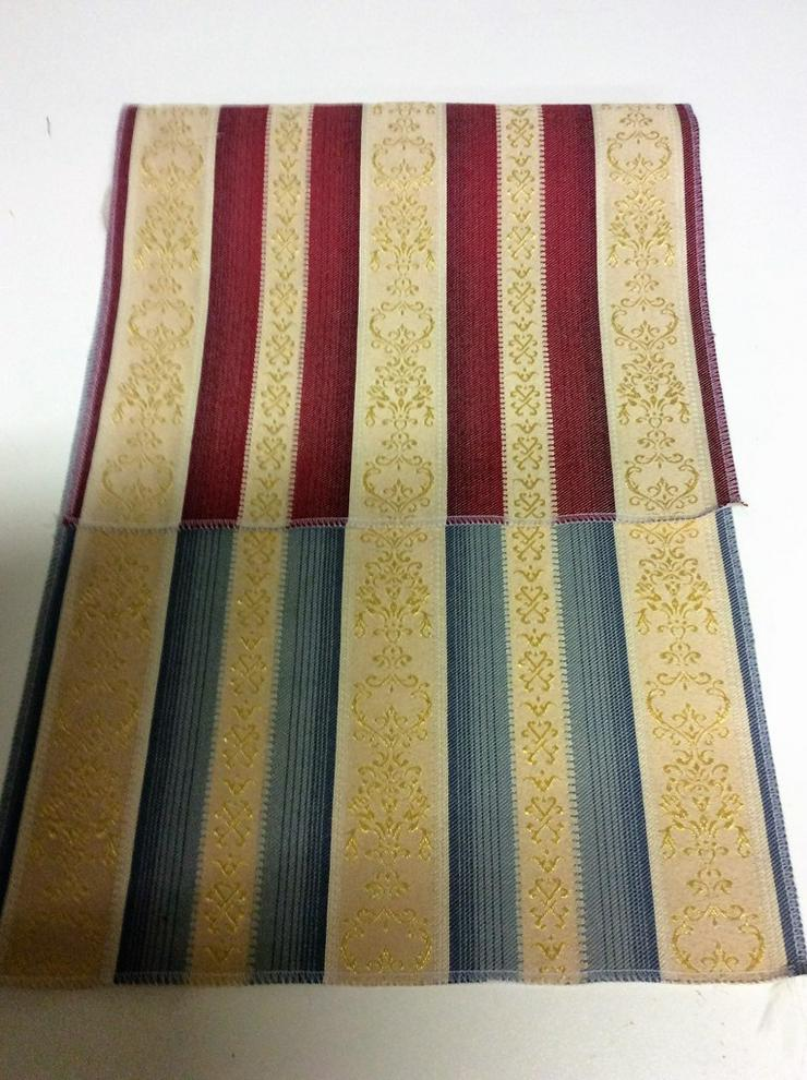 Möbelstoffe Stil - Streifen in 2 Farben - Gardinen - Bild 1