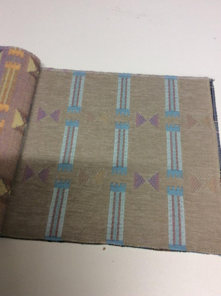 Bild 3: Möbelstoffe Chenille in 5 Farben /2 Design