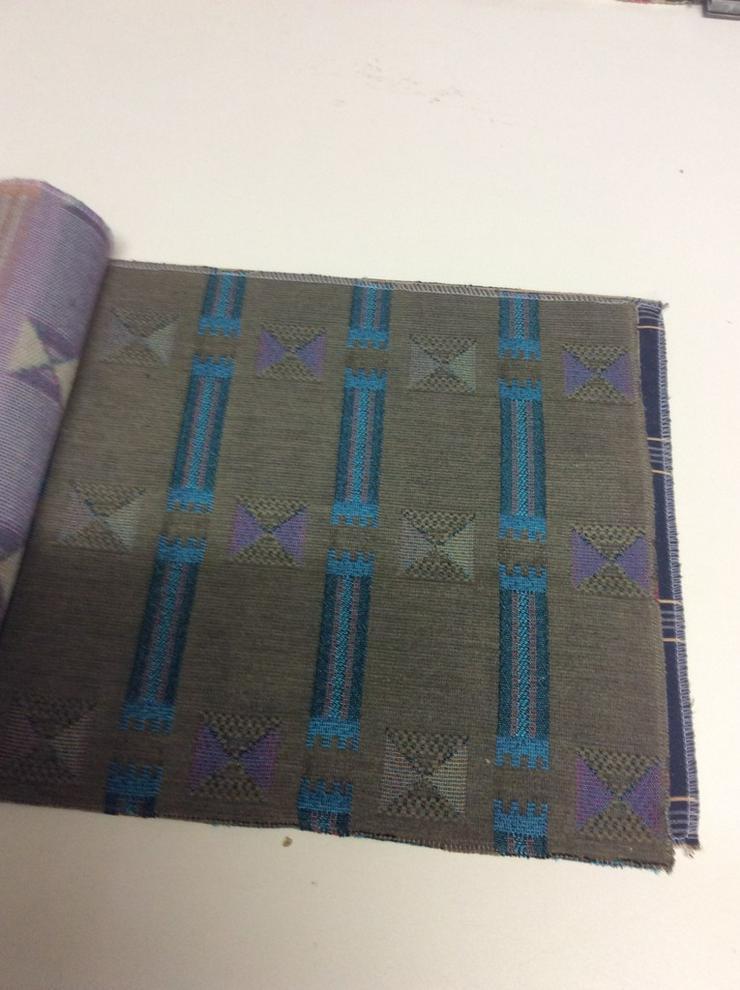 Bild 4: Möbelstoffe Chenille in 5 Farben /2 Design