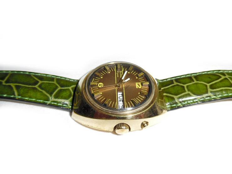 Bild 3: Seltene Armbanduhr von Slava - Automatic