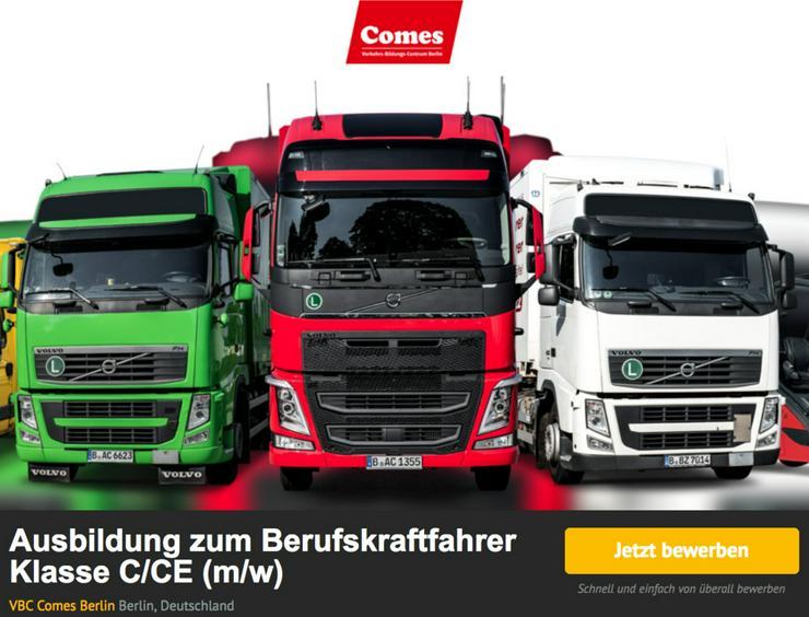 Ausbildung zum LKW-Fahrer/in/4-6 Monate - Spedition, Lager & Logistik - Bild 1