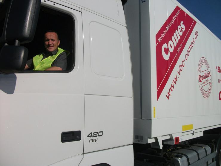 Bild 4: Ausbildung zum LKW-Fahrer/in/4-6 Monate