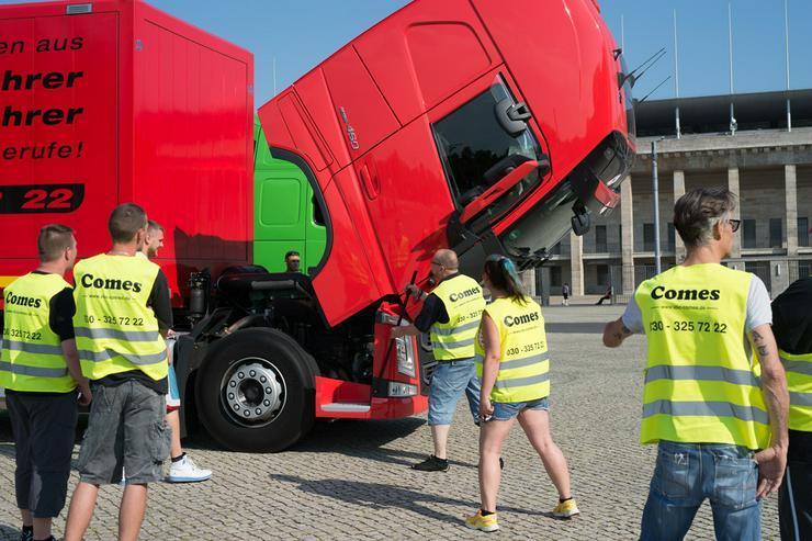 Bild 5: Ausbildung zum LKW-Fahrer/in/4-6 Monate